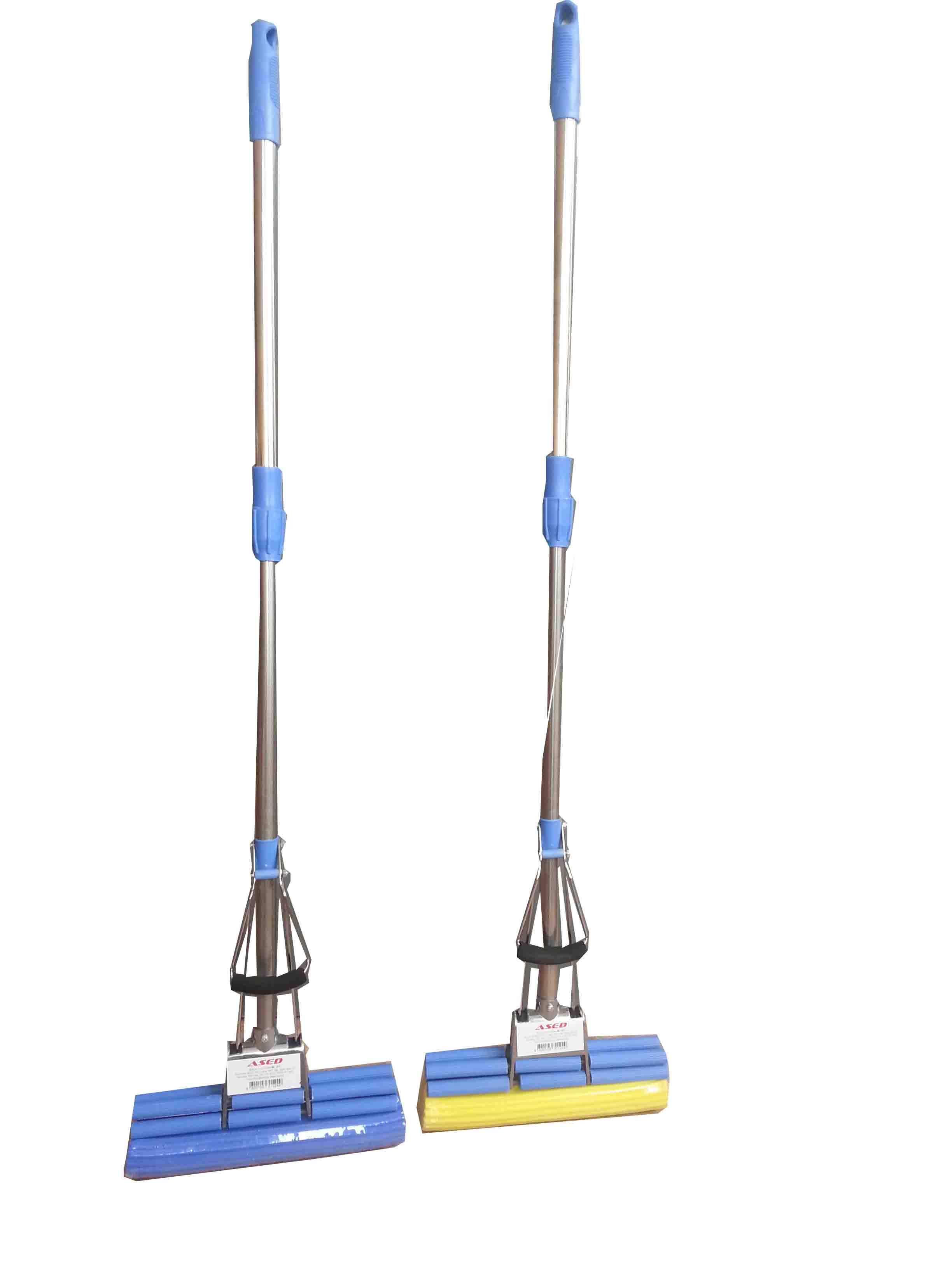 PVA Mop - double roller and stainless steel handle 120 cm.