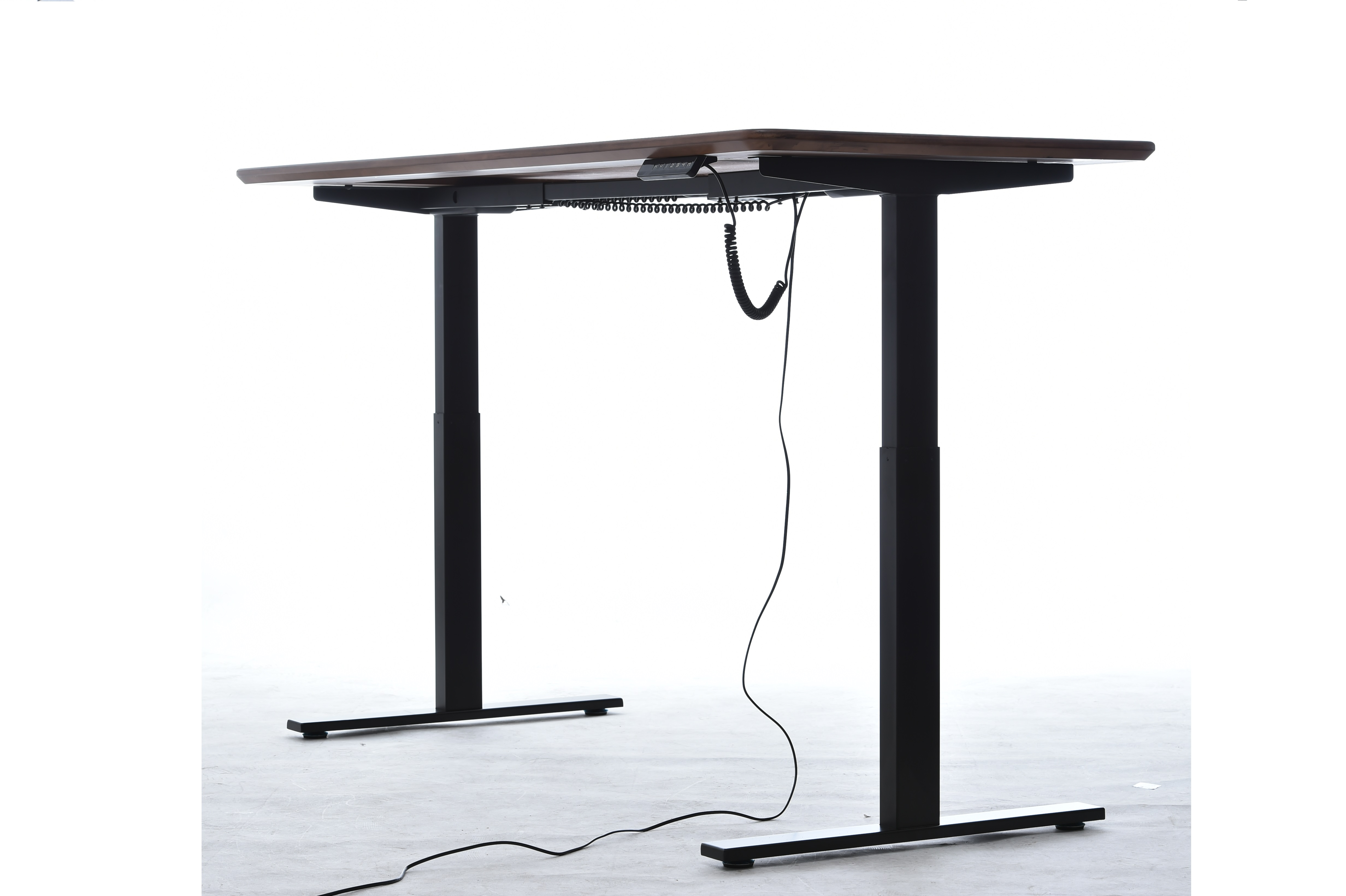 SMART LIFT LIGHT DESK ASED desk with 2 lifting segments and 1 mo