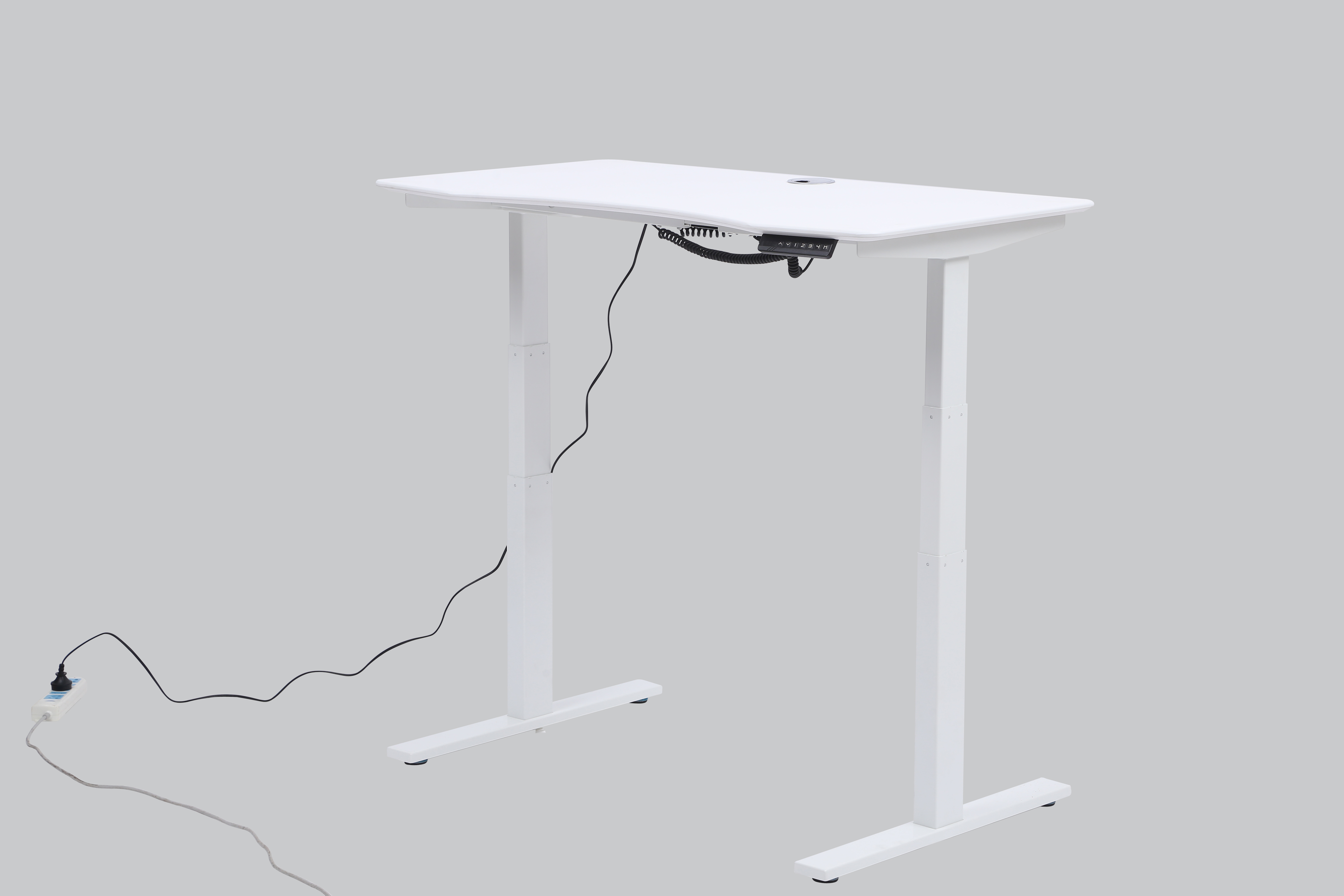 SMART LIFT DESK ASED desk with 3 lifting segments and 2 motors